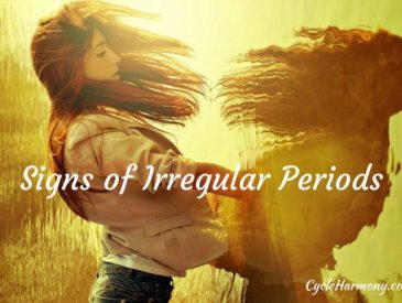 signs of irregular periods
