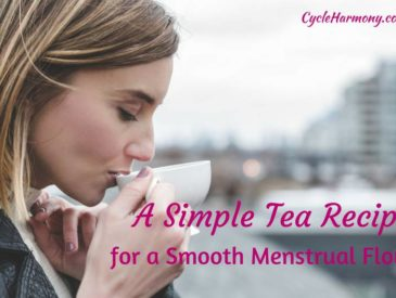 tea recipe for smooth menstrual flow