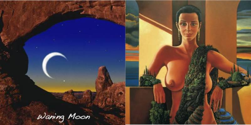 waning moon menstrual cycle