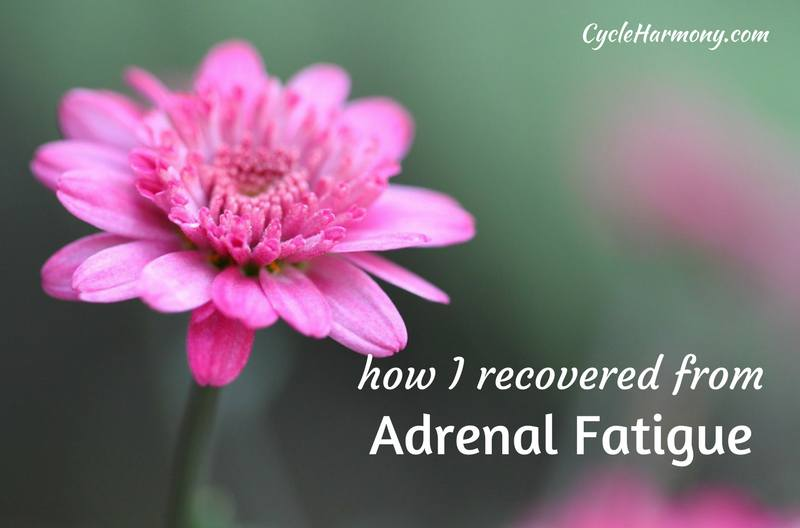 how i recovered from adrenal fatigue
